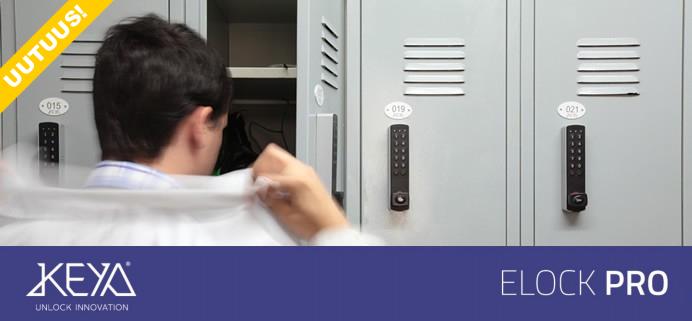 Elock Pro elektroninen kalustelukko